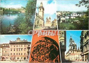 Postcard Modern Praga Best memories of Prague