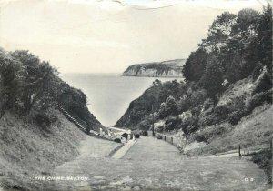 Post card England East Devon Seaton the Chine