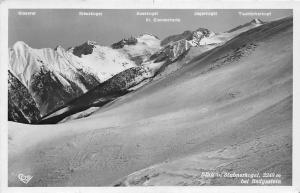 Blick von Stubnerkogel bei Badgastein Kreuzkogel Berg Mountains Panorama