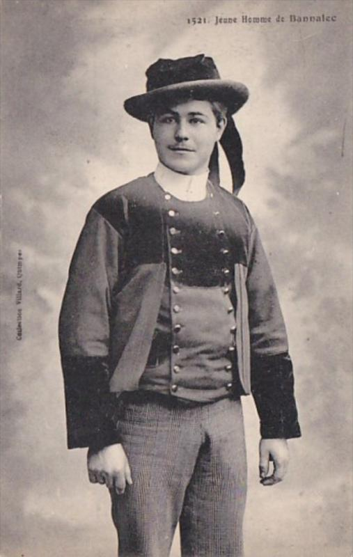 France Jeune Homme de Bannalec