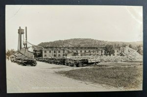 Mint Vintage Dixfield Maine Berst Foster Toothpick Co Real Picture Postcard RPPC