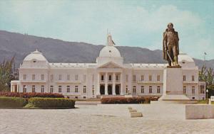 PORT AU PRINCE, Haiti, 1940-1960's; The National Palace