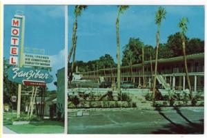 Jacksonville,  Florida. Early Views of The Zanzibar Motel