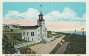 MACKINAC ISLAND , Michigan , 1900-10s ; Old Mission Church