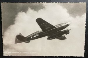 Mint France Real Picture Postcard RPPC Typhon 640 Caudron Renault