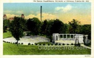Chi Omega Amphitheatre, Fayetteville, Arkansas, USA Opera Postcard Postcards ...