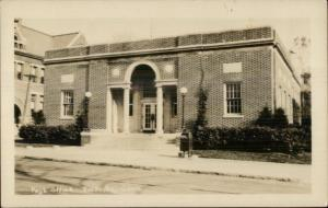 Rockville CT Post Office Real Photo Postcard
