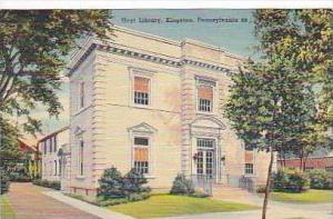 Pennsylvania Kingston Hoyt Library