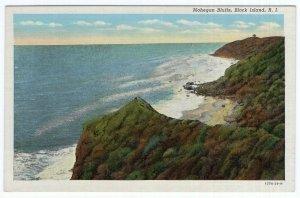 Block Island, R.I., Mohegan Bluffs