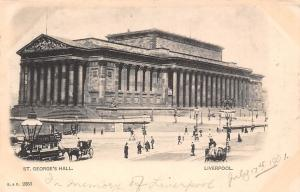 Liverpool, St. George's Hall, Grams Tea Carriages, Statue 1901