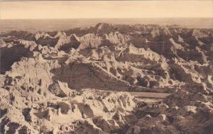 Castle Ruins The Badlands Nat Monument South Dakota Albertype