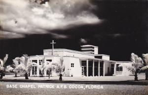 Florida Cocoa Base Chapel Patrick Air Force Base Real Photo