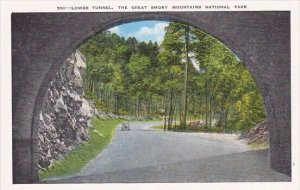 Lower Tunnel The Great Smoky Mountains National Park Tennessee