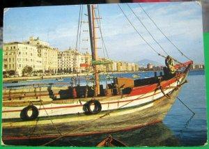 Greece Thessaloniki Quay Seashore - posted 1978