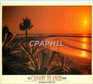 Postcard Modern Tenerife Playa de Las Americas The Canary Islands Series