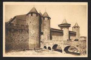 Carcassonne Castle Wall Entrance FRANCE Unused c1920s