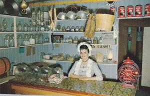 Freshly baked sour dough bread or candy, The Candy Shop in historic Barkervil...