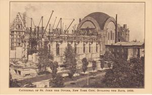 Cathedral of St John the Divine , New York City , 1926 ; Building the Nave