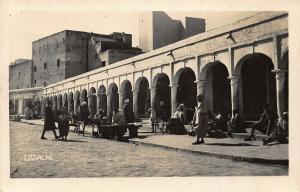 Morocco larache Street Market Postcard