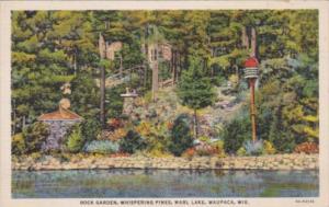 Wisconsin Waupaca Rock Garden Whispering Pine Marl Lake