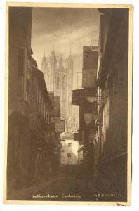 Butchery Lane, Canterbury, Kent, England, United Kingdom, PU-1907