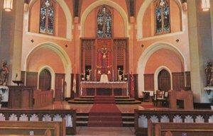 VANCOUVER , B.C., 40-60s; St. Augustine's Church , Interior