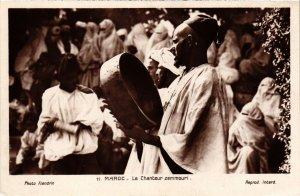 CPA AK MAROC Le Chanteur zemmouri (92491)