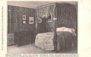 Hancock-Adams Room Lexington, Massachusetts Postcard