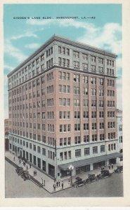 SHREVEPORT , Louisiana , 1910s ; Gidden's Lane Building