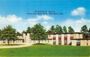 Morrilton Arkansas Petit Jean State Park Hardison Hall Vintage Postcard K90858