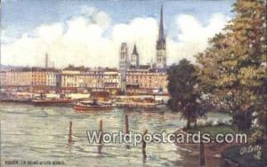 Rouen, France, Carte, Postcard La Seine et Les Quais  La Seine et Les Quais