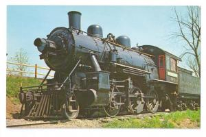 Black River & Western No. 565 2-6-0 Mogul RR Postcard Train