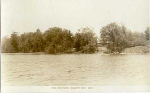 RPPC of the Rectory, Shanty Bay, Ontario, Canada