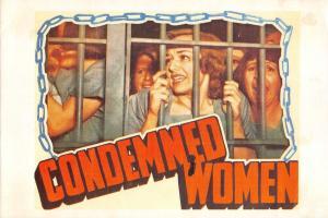 Film Movie Postcard Condemned Women 1938 RKO HUGE SIZE 205x140mm