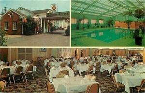 TN, Nashville, Tennessee, Biltmore Hotel Court, Multi View, Pool, Dexter 3600-B