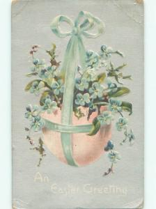 Divided-Back EASTER SCENE Great Postcard AA1564