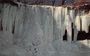 Minnehaha Falls Winter Minneapolis,  MN