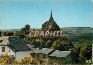 Modern Postcard Around Lacaune The Virgin of Roquecezieres