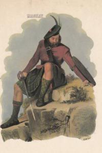 Mackay Scottish Kilt Fashion Scotland Postcard