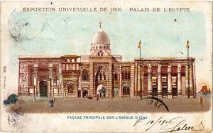CPA PARIS EXPO 1900 - Facade principale sur l'Avenue d'iéna (306185)