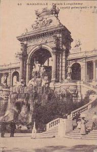 MARSEILLE, Palais Longchamp (motif principal), Bouches-du-Rhone, France, 10-20s