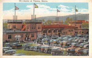 Tijuana Mexico Casino Birdseye View Antique Postcard K63796