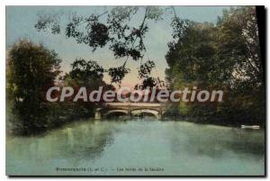 Old Postcard Romorantin edges Sauldre