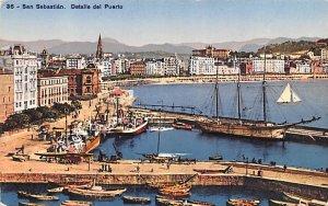 Detalle del Puerto San Sebastian Spain Unused