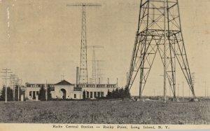 ROCKY POINT , L.I. , NY , 1900-10s ; Radio Central Station