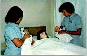 Espanola, New Mexico Postcard McCURDY SCHOOL OF PRACTICAL NURSING Nurses