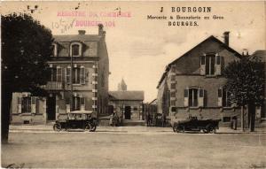 CPA  Bourges - Scene - J Bourgoin - Mercerie & Bonneterie en Gros  (634686)