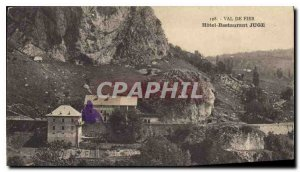 Postcard Old Val de Fier Hotel Restaurant Judge