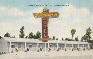 NAHUNTA , Georgia , 1930-40s ; Pittsburgher Motel