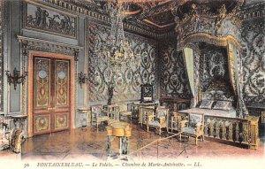 Le Palais, Chambre de Marie Antoinette Fontainebleau France Unused